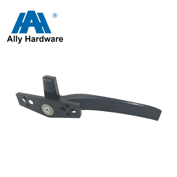 Black Color Aluminum Alloy Window Handle (HL-11) Rivet Type pictures & photos