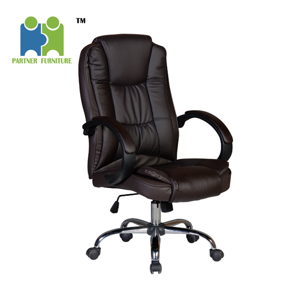 Office Chair Ergonomic Pu Leather
