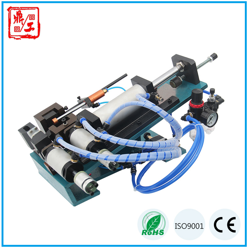 China Dg-305 Pneumatic Semi Automatic Sheathed Wire Cable Stripping ...