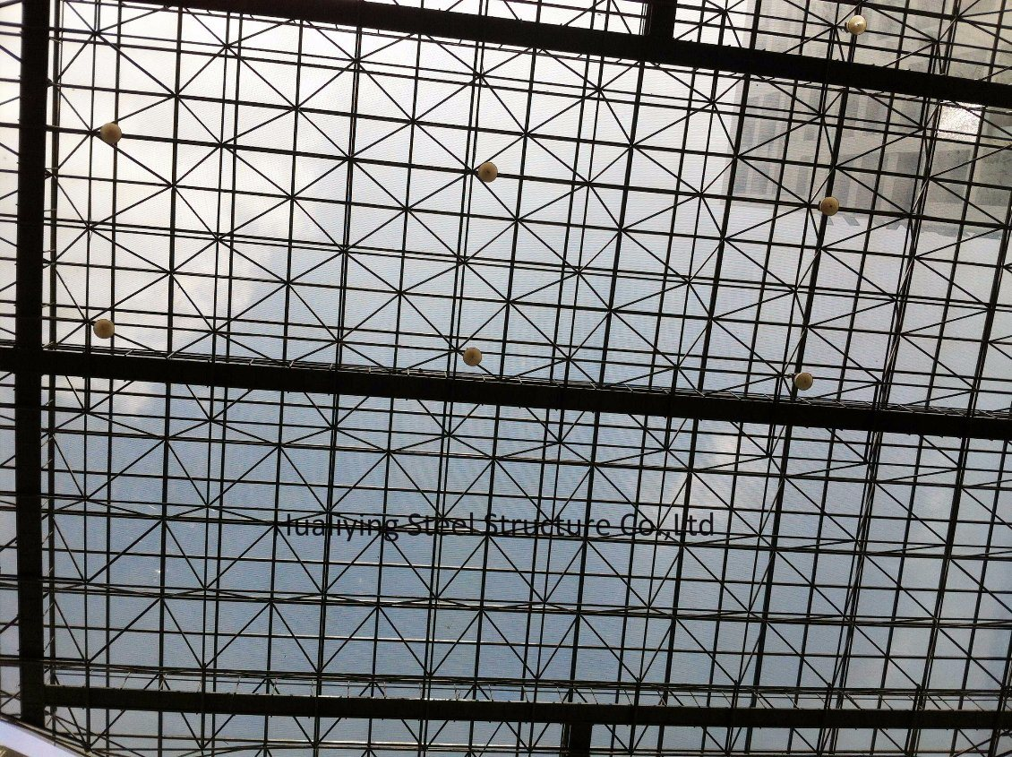 China Roof Grid Cover Space Frame/Steel Structure Photos & Pictures ...