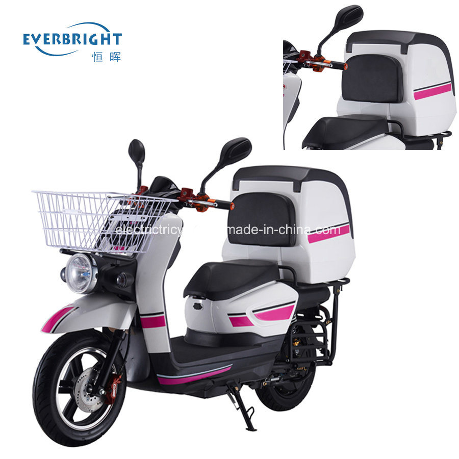 Fast Food Delivery Electric Lead Acid Battery Powered 2 Wheel Motorbike Scooter pictures & photos