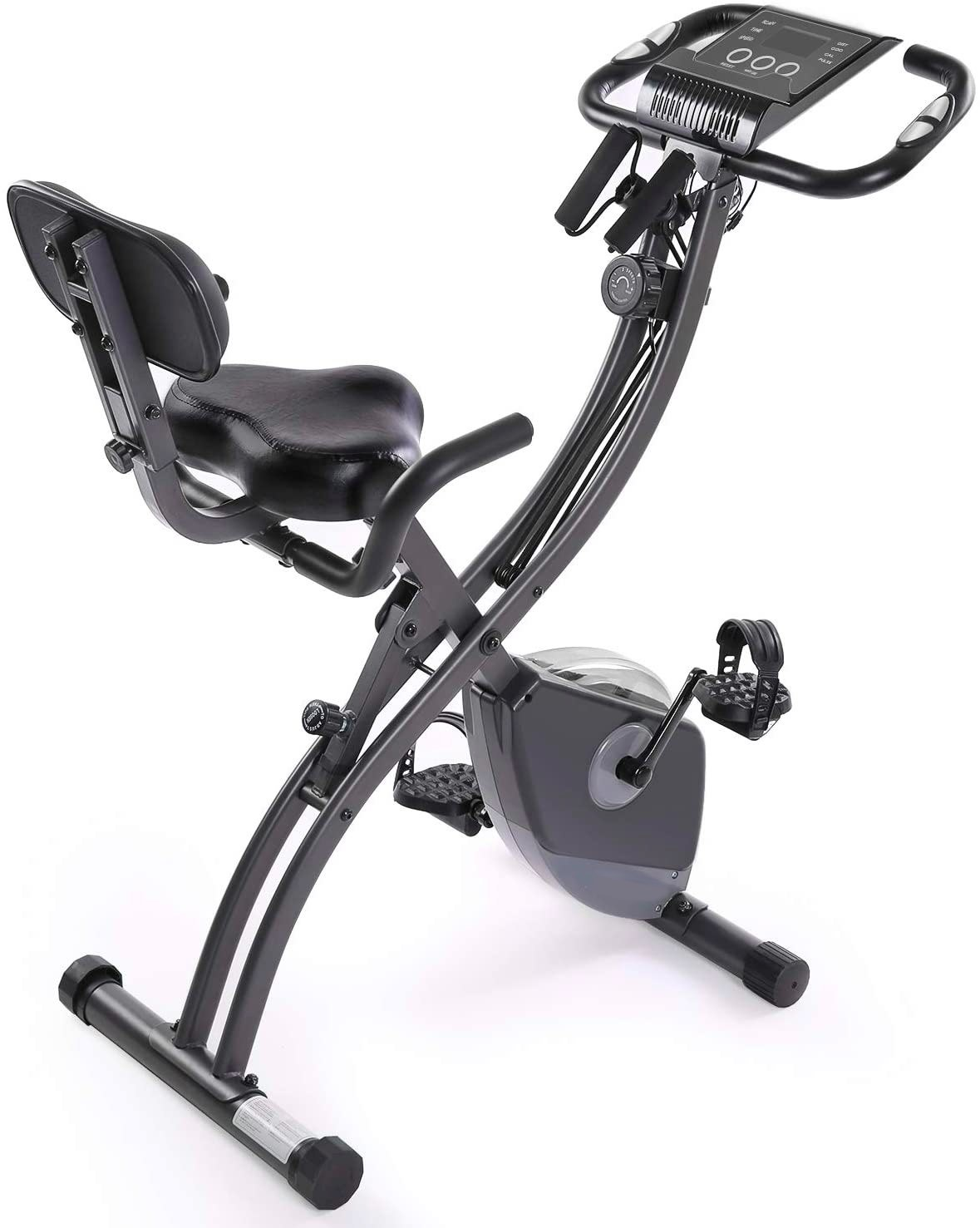 Folding Foldable Exercise Bike Bicycle For Indoor Home Gym Fitness Cycle Pedal