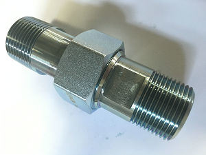 Hydraulic Adapter with Galvanize Male Straight