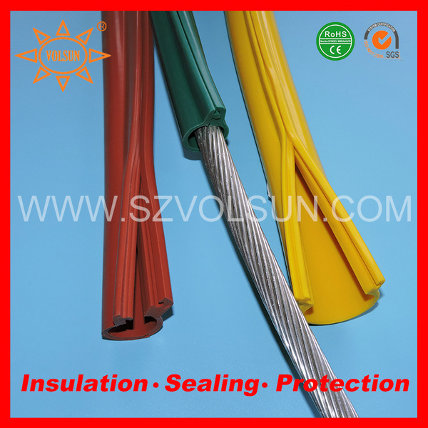 China Overhead Line Bare Conductor Insulation Cover - China ...
