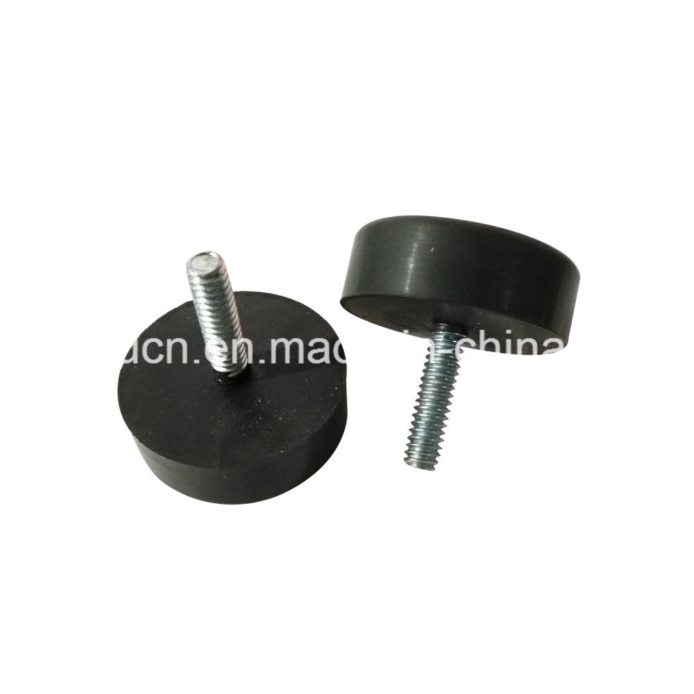 Adjustable Oval Teflon Plastic Furniture Glide For Chair Leg