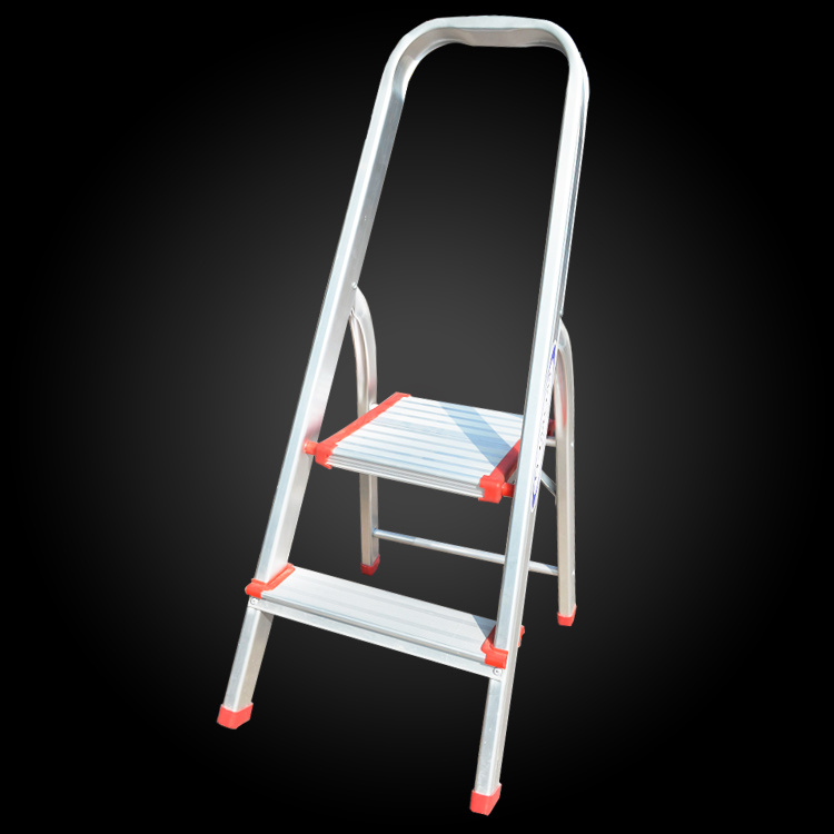 Terrific Hot Item Super Light Folable Agility Household Loft Aluminum 2 Step Ladder Inzonedesignstudio Interior Chair Design Inzonedesignstudiocom