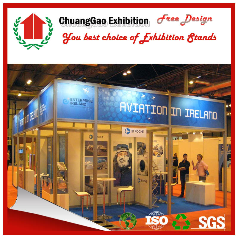 Exhibition Booth En Espanol : China standard exhibition booth for modular display stand