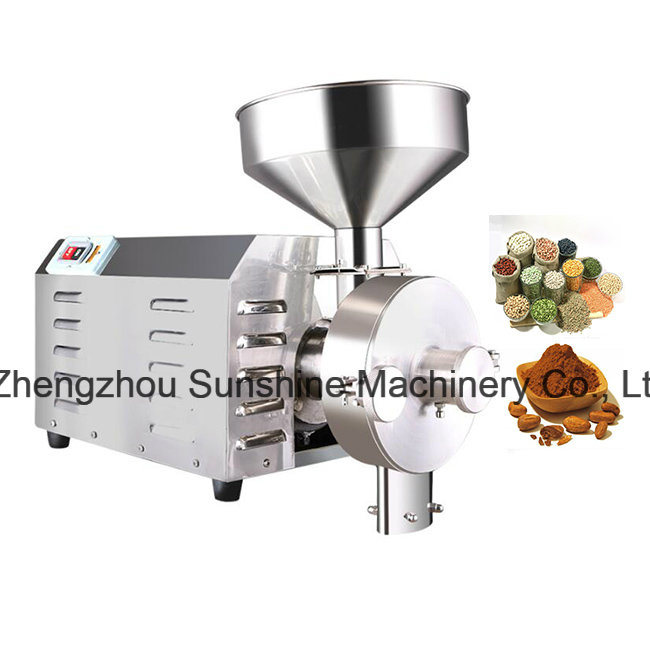 Chili Cocoa Bean Grinder Grain Wheat Grinding Machine Price pictures & photos