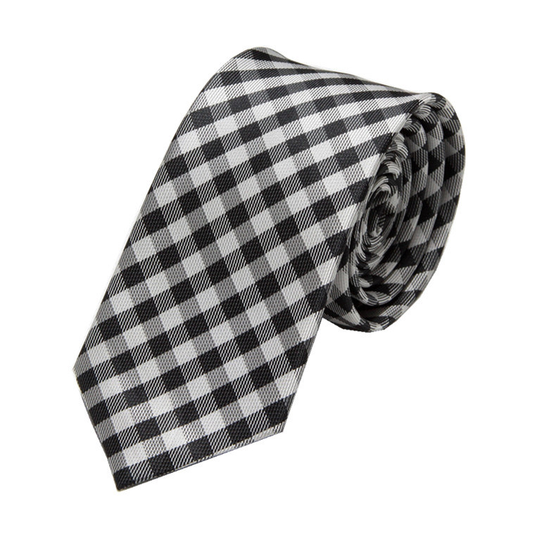 2016 Men Fashion Plaid Design Polyester Ties (WH24)