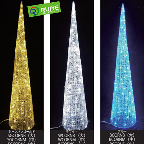 5 Star LED Cone Motif Light Outdoor Christmas Hotel Decoration Lights pictures & photos