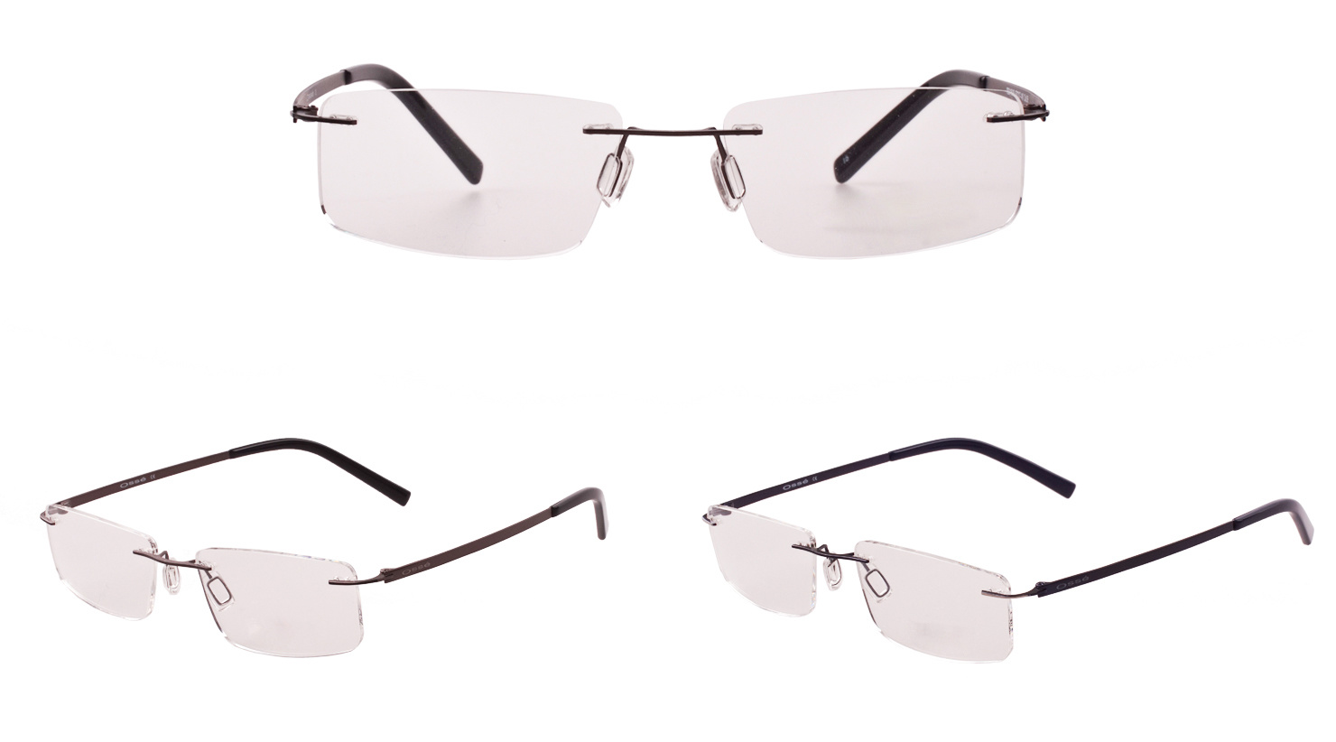China Sw209 Tommy Rimless Metal Optical Frames - China Optical ...