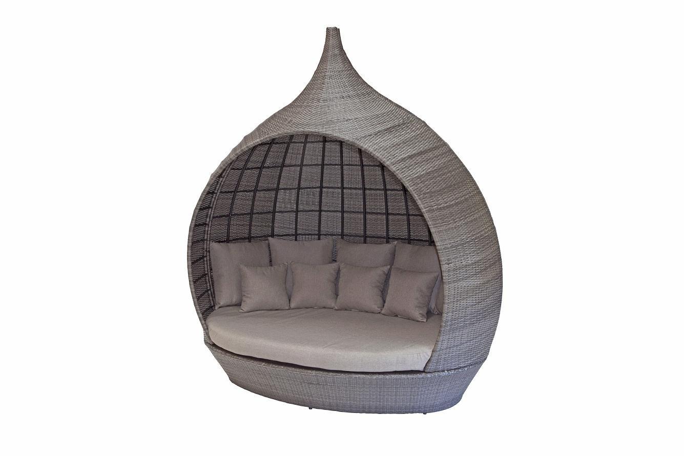 [Hot Item] Outdoor Garden Rattan Wicker Furniture Pagoda Lounge Sofa Set