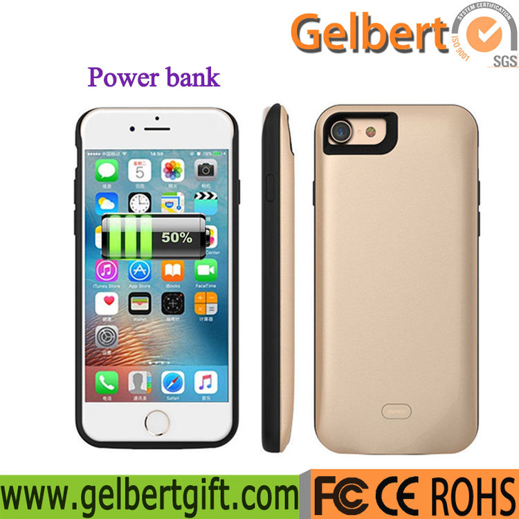 new product 11429 77a91 [Hot Item] 5200mAh External Battery Pack Backup Charger Battery Case  Portable Power Bank for iPhone 7 Plus