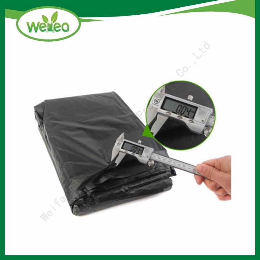 100 Plastic Trash Bags 30Gallon Black Strong Tall Heavy Duty Garbage Kitchen Bag