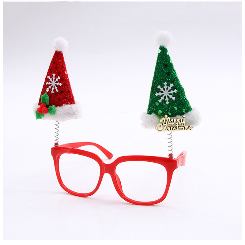 Hot Item Funny Ornaments Frames Evening Party Toy Kids Glasses Xmas