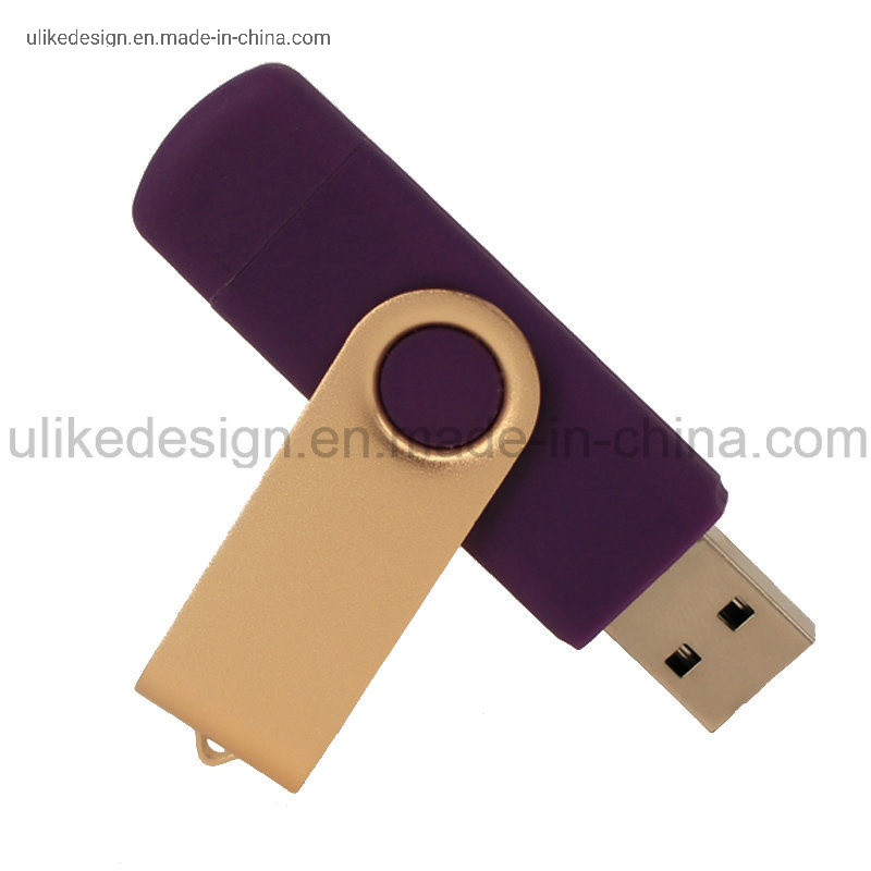 Twist OTG USB Flash Drive USB Pen Drive 8g-128GB pictures & photos