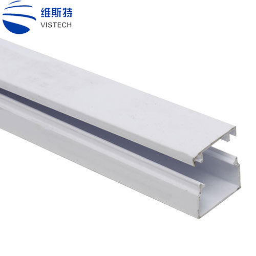 China All Types Plastic Trunking Sizes For Electrical Cable System Pvc Cable Trunking Profile China Pvc Cable Trunking Pvc Trunking
