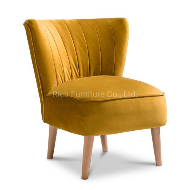 Tremendous China Mustard Yellow Velvet Accent Chair Plush Fabric Light Forskolin Free Trial Chair Design Images Forskolin Free Trialorg