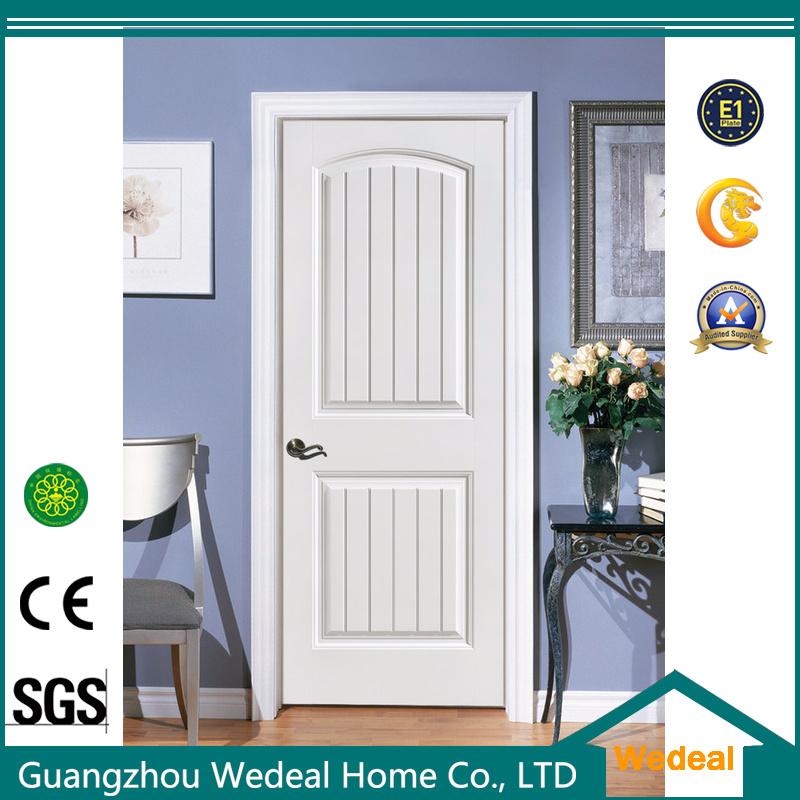 China Solid Wood White Europe Classic Interior Door China Wooden