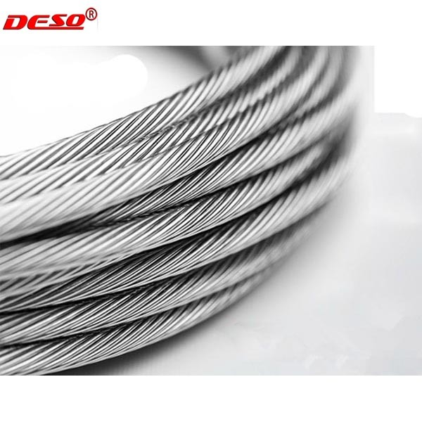 China Carbon Steel Lifting Wire Rope / Cable 6X36 Iwrc - China Steel ...