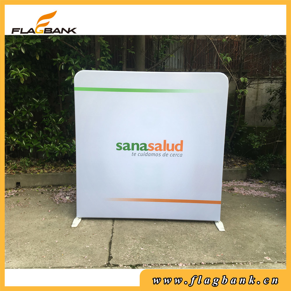 Hot Item Trade Show Fabric Displays Retractable Banner Stands Pop Up Display
