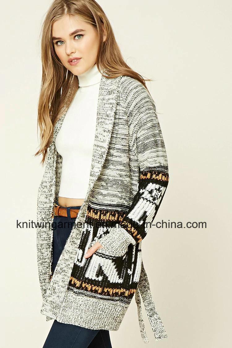 5ce704518cbddf China Latest Fashion Striped Women Knit Clothes Cardigan (W18-234) - China  Women Clothes, Clothes