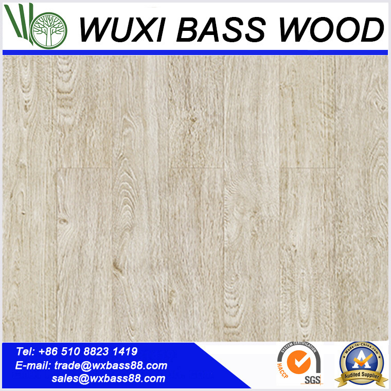 Antique White Laminate Flooring Made Of High Quality Hdf