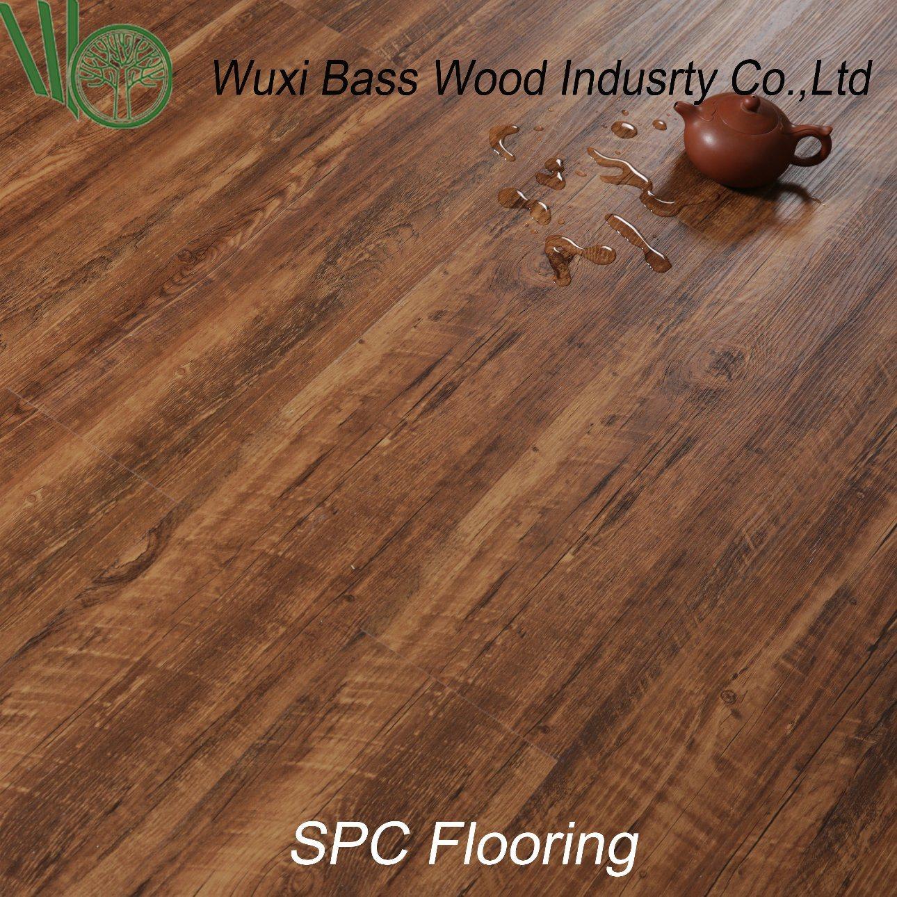 Uv Coating Spc Flooring 4mm 5mm