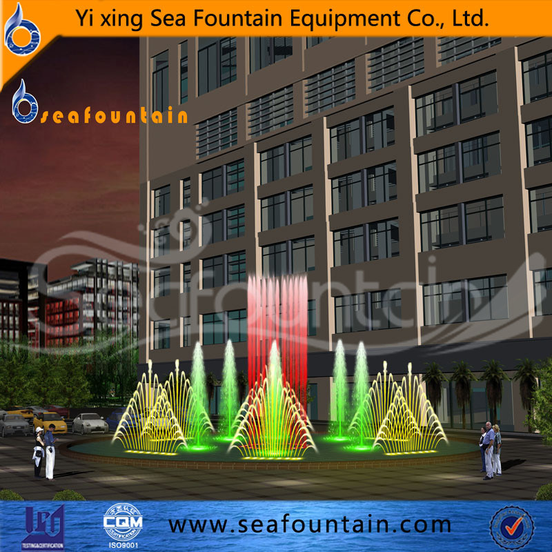 Wooden Package Water Pool Music Fountain pictures & photos