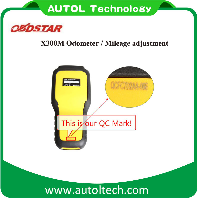 Original Obdii Mileage Adjustment Obdstar X300m Upgrade Online Odometer Adjustment