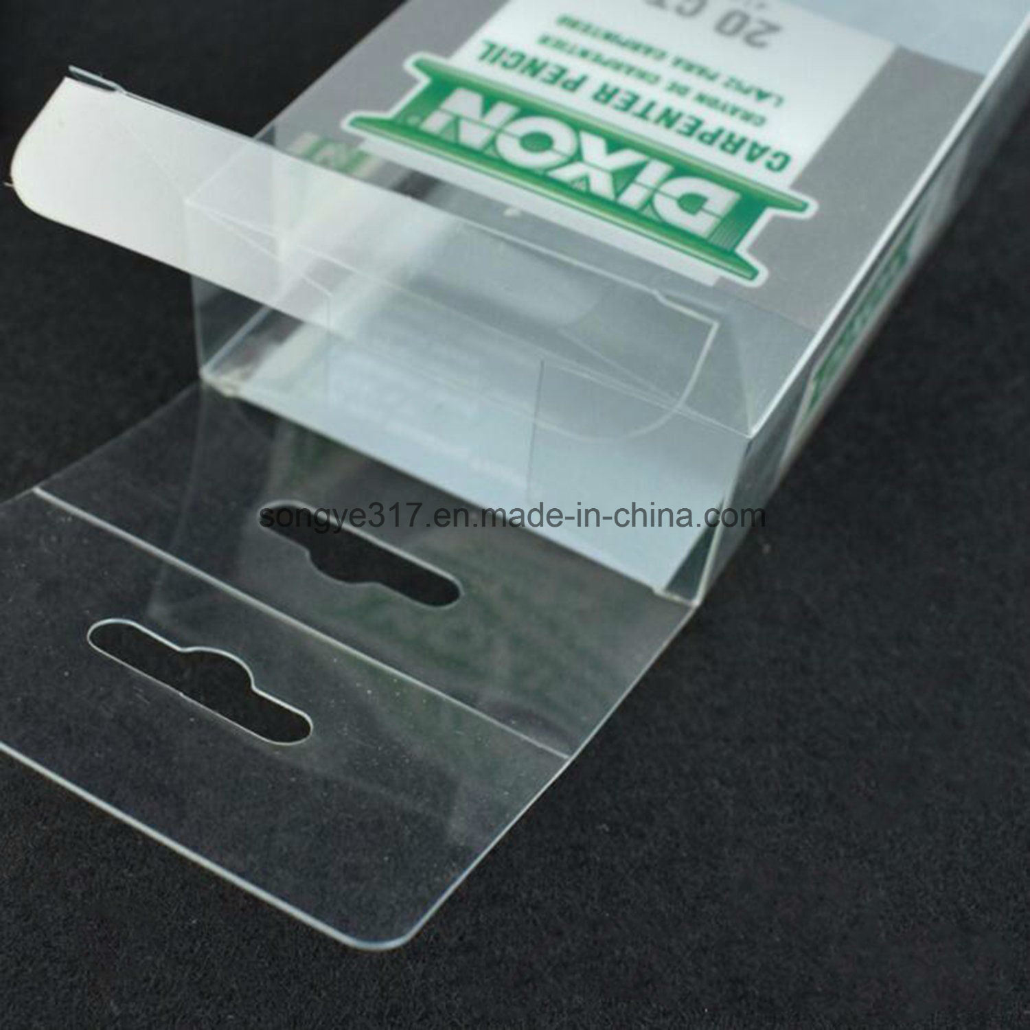 Manufacturers Custom Transparent Plastic Folding Box pictures & photos