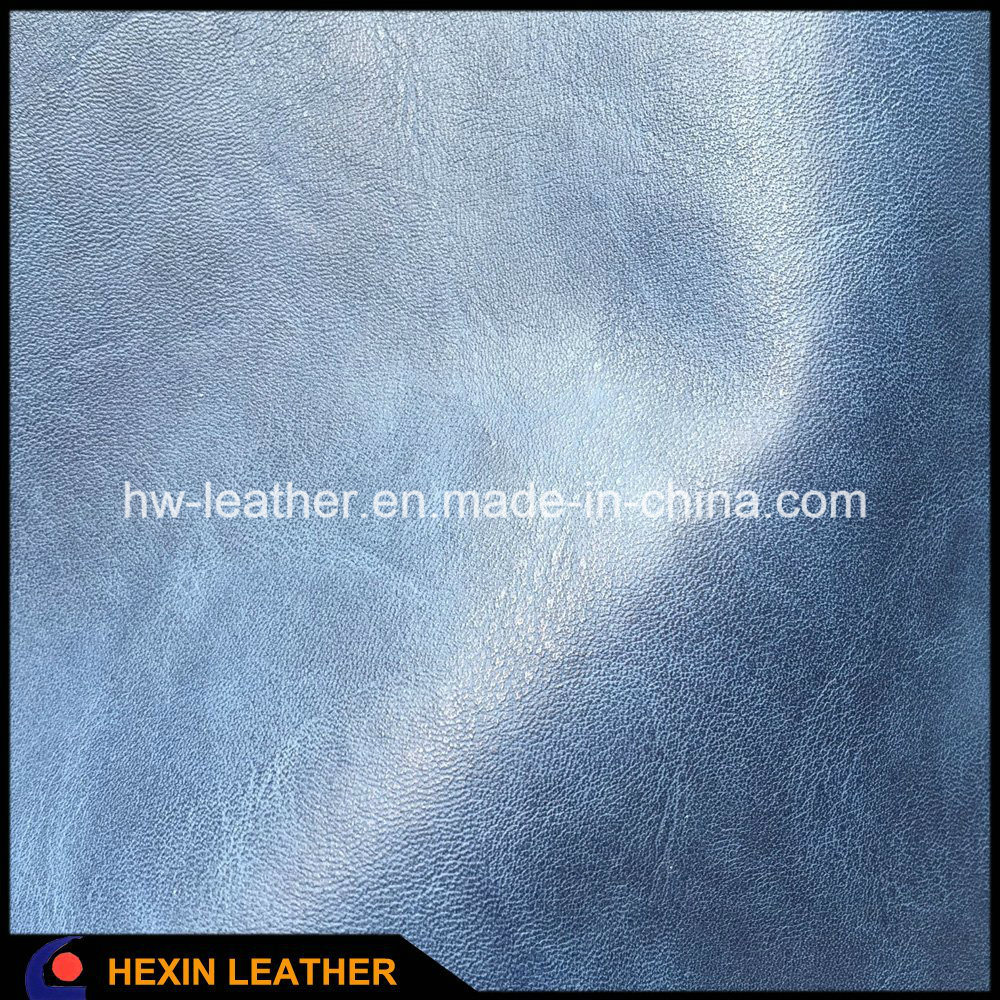 Soft Synthetic PU Leather for Shoes Boots Bags Making Hx-S1709