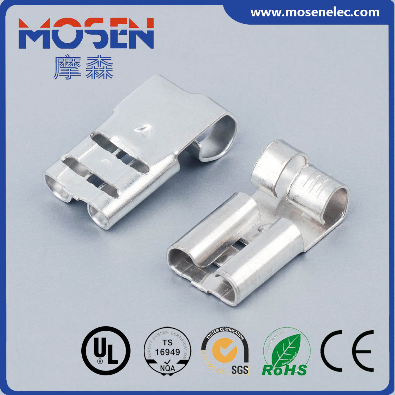 China Faston terminal Lugs DJ6222-D6.3b Wire Electrical connector ...