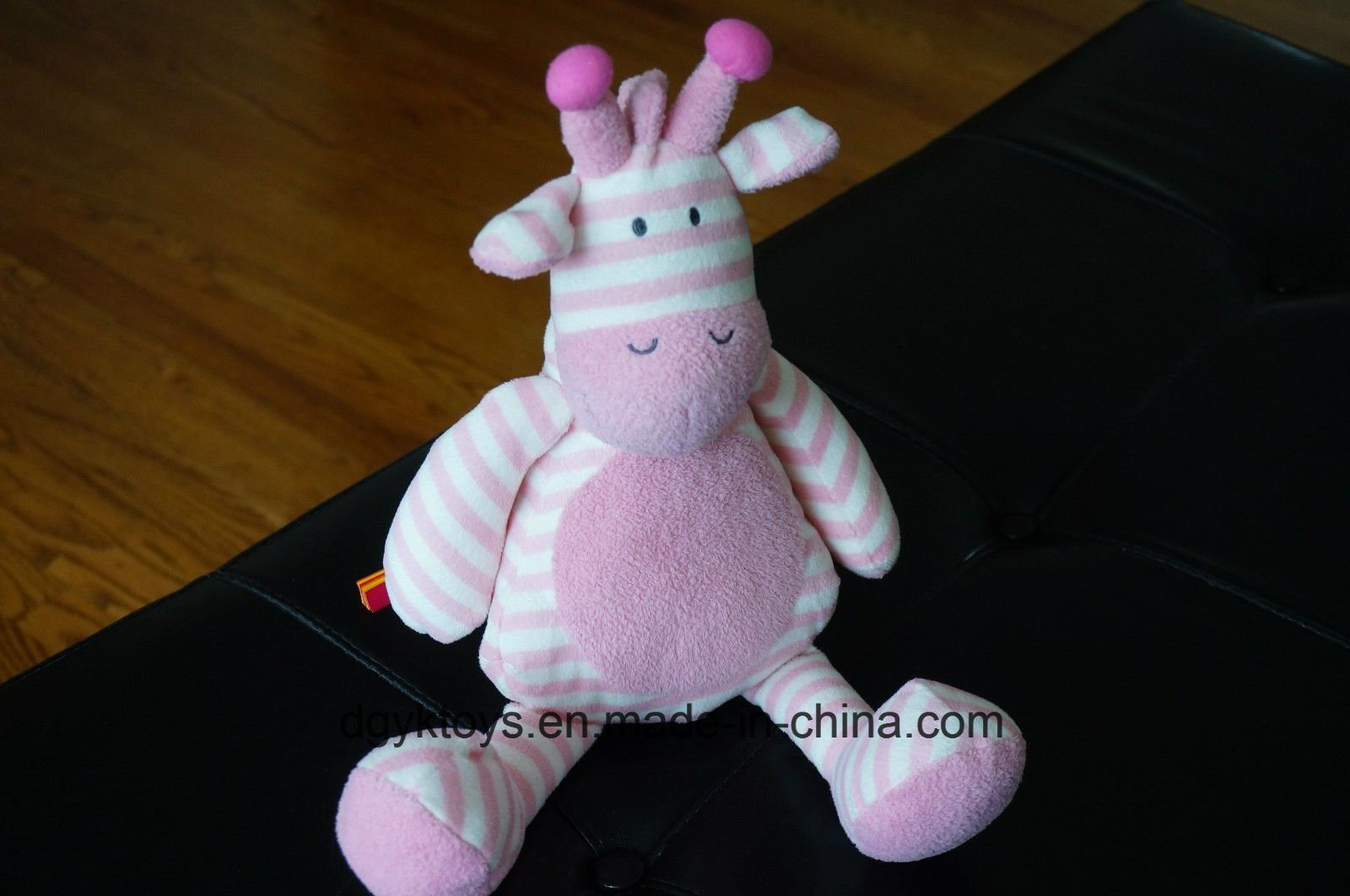 Stuffed Animal Pink White Stripe 2017 Soft Doll pictures & photos