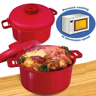 Microware Functional Pressure Cooker Container