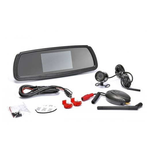 4.3-Inch 2.4G Wireless Car Monitor with Wireless Backup Camera Reversing Set for Car, Taxi pictures & photos