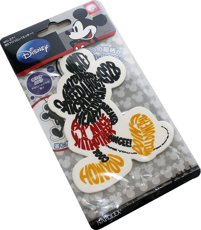 Cartoon Mickeypaper Air Freshener Dispenser for Car