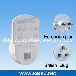 2dc58b63c570 China 220V UK Plug Motion Sensor LED Night Light - China UK Plug LED ...