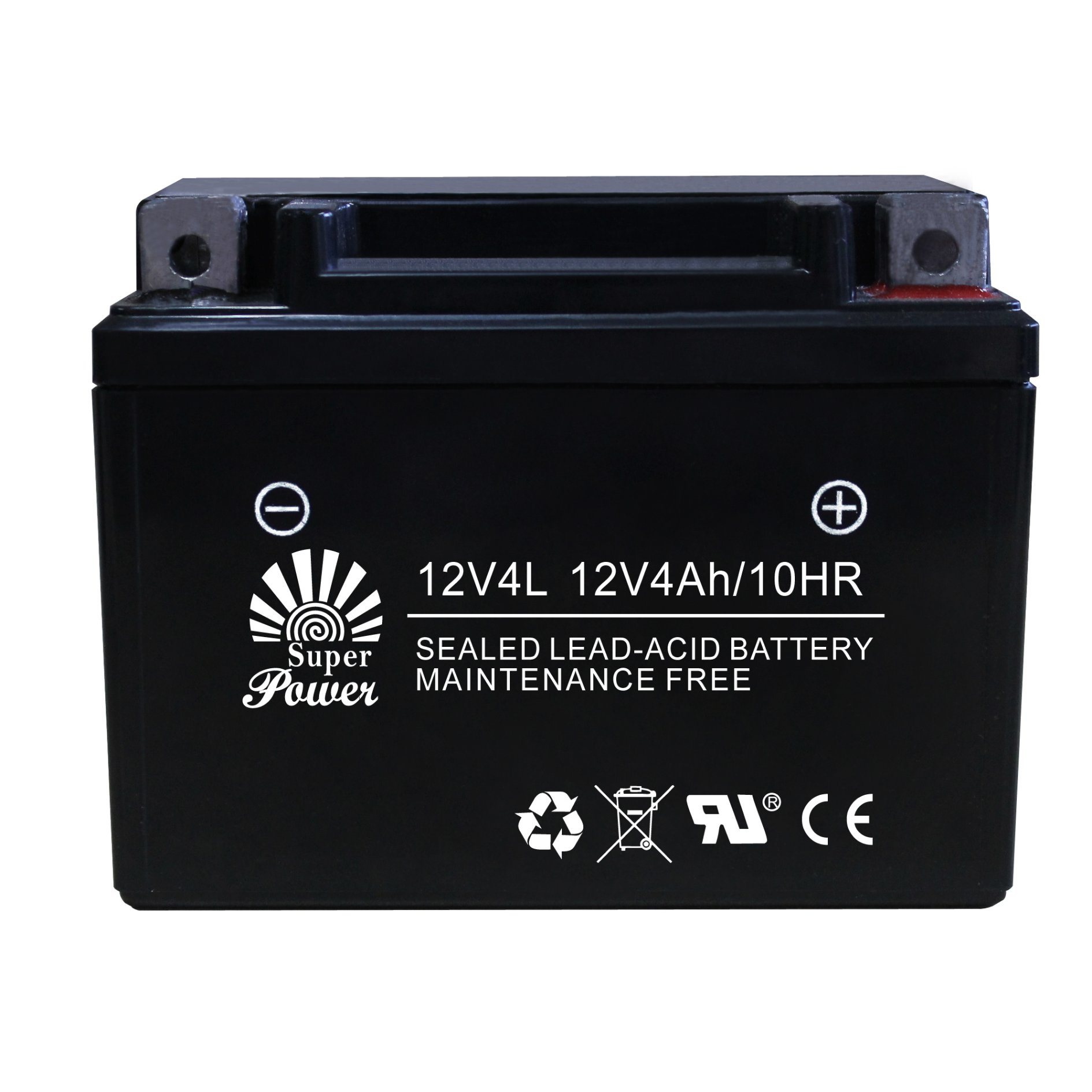 Maintenance Free Motorcycle Battery 12V 4ah with CE UL Certificate Called 12V4L