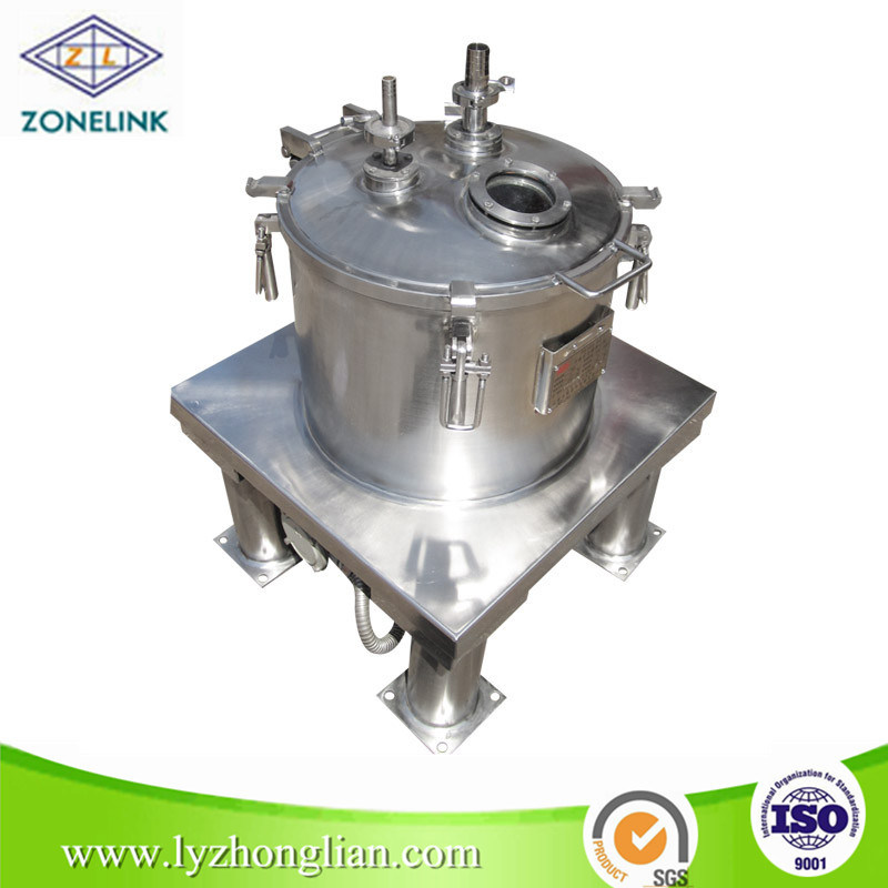 3000r/Min High Speed Top Discharge Flat Sedimentation Centrifuge for Yeast Concentration