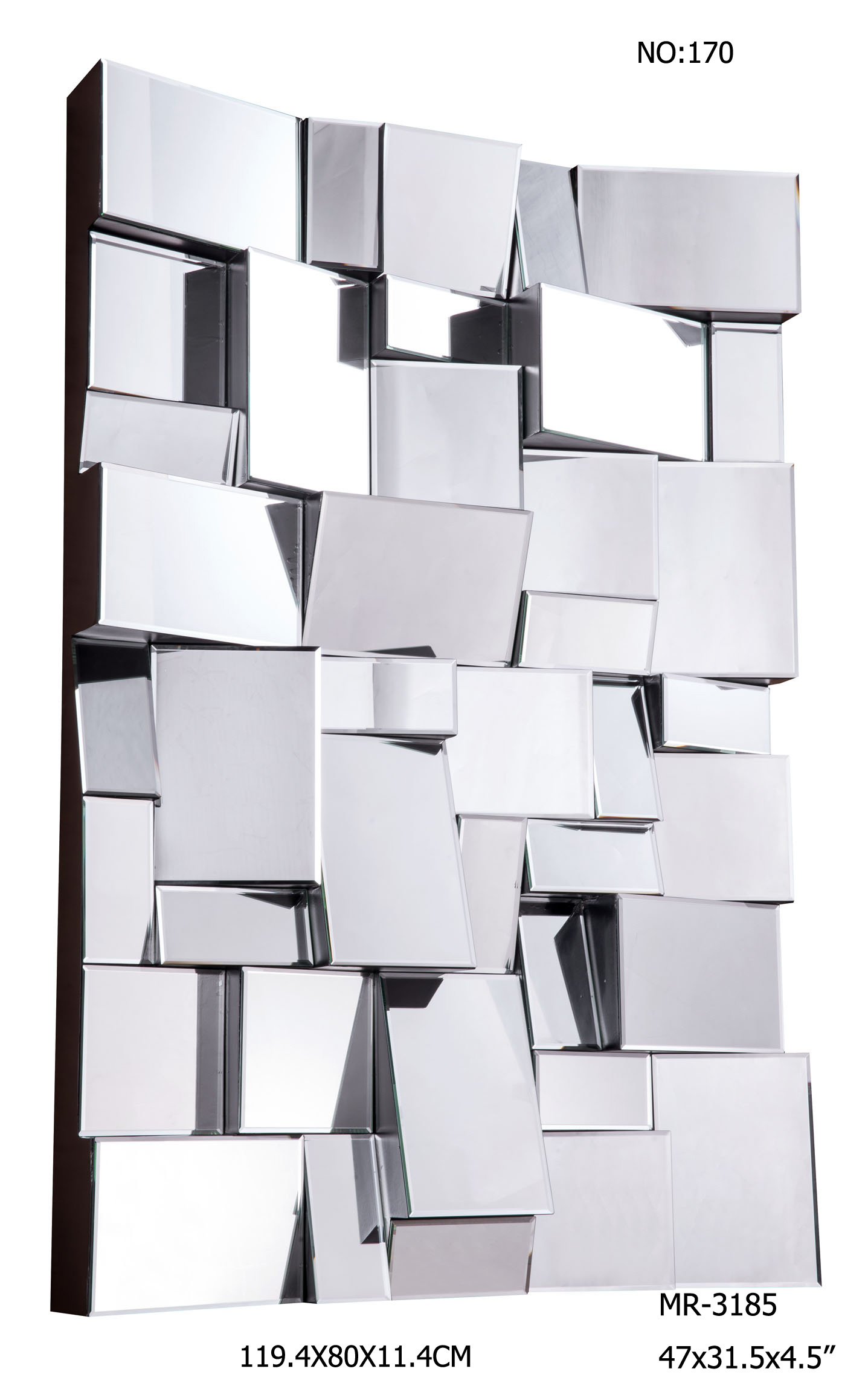 Special Shape Hotel Project Decorative Wall Mirrors