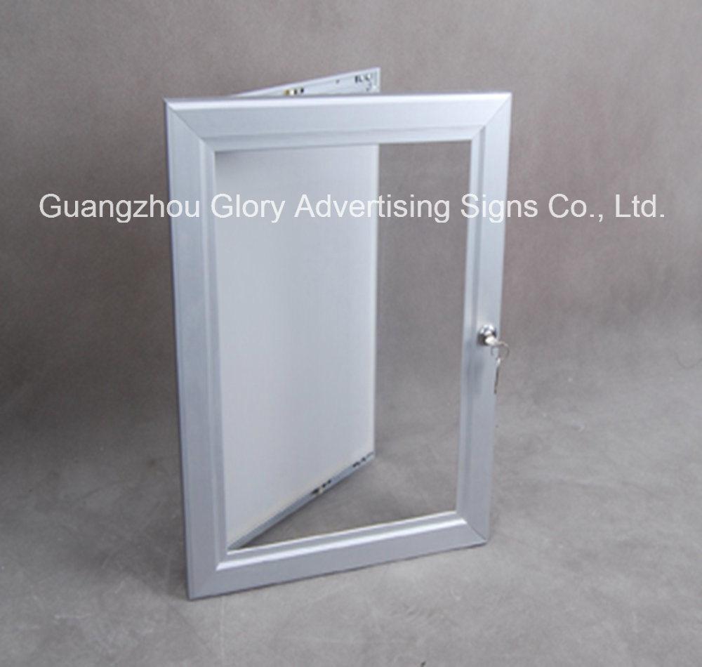 China Single Sided Lockable LED Backlit Snap Frame - China Light Box ...