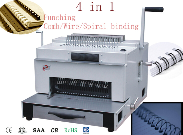 Multifunction Heavy Duty Binding Machine (SUPER4&1)