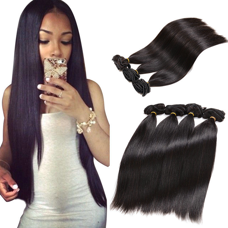 China Wholesale No Tangle No Shedding Full Head Clip In Hair Clip On