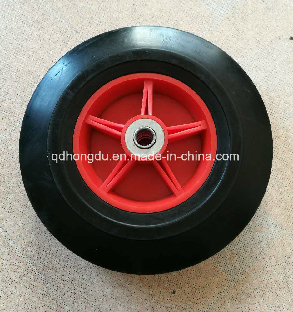Solid Rubber Wheel for Wheel Barrow and Hand Trolley pictures & photos