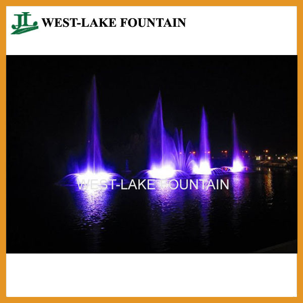 Water Curtain Laser Projection Musical Dancing Fountain in Ukraine pictures & photos