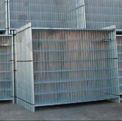 6FT*8FT Galvanized Temporary Fence Panel for Canada Market