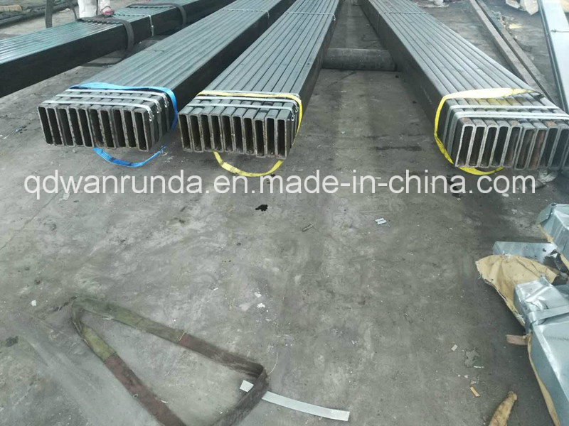 200X50X8mm Rectangular Steel Pipe Use for Machine Manufacturing pictures & photos