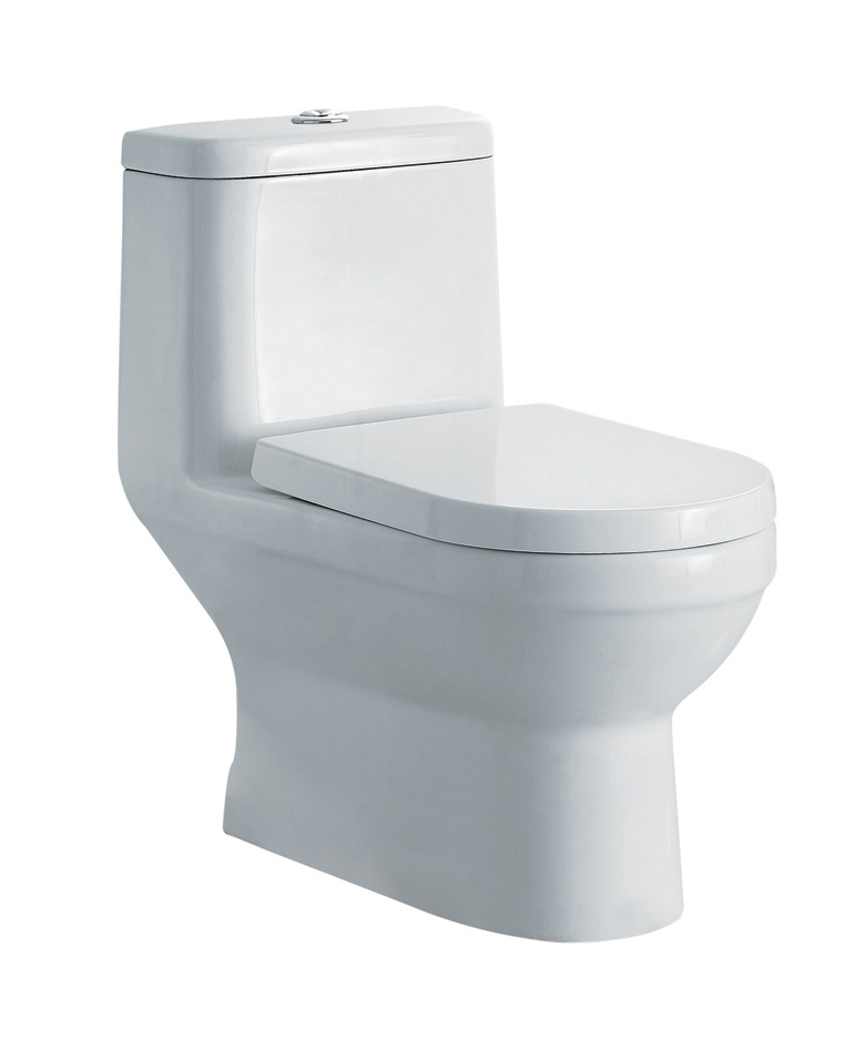 China Hot Sale European Sanitary Ware Hotel Used Water Closet Jet Sipnonic  One Piece Toilet (WDS13)   China Toilet, Sanitary Ware
