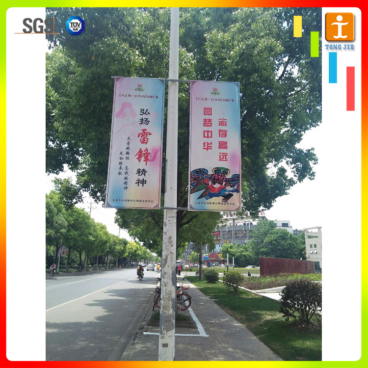 Custom Advertising Hanging PVC Street Banner pictures & photos